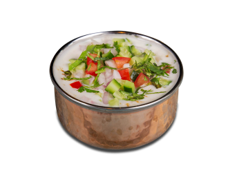 Mix vegetable Raita